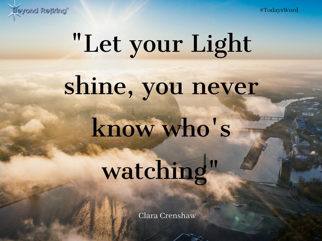 Today's Word - Clara Crenshaw