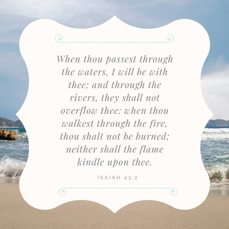 When Thou Passest Through the Waters - Today's Word