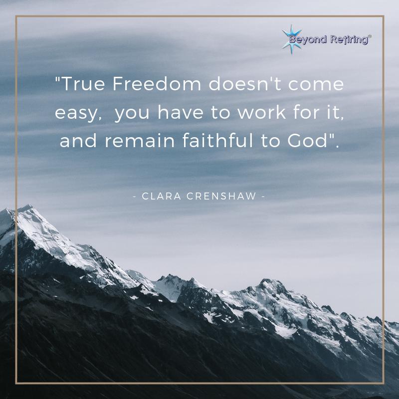 True Freedom - Clara Crenshaw